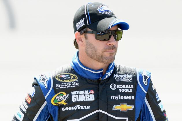 Superman Jimmie Johnson's Kryptonite? Restarts
