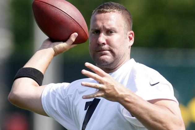 Roethlisberger 'Feels Good' After Knee Surgery