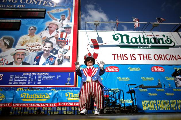 Nathan's Hot Dog Eating Contest 2013 TV Schedule: When and Where to Watch