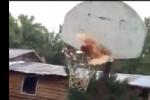 Kid Drives Lane, Swishes Chicken Through Net