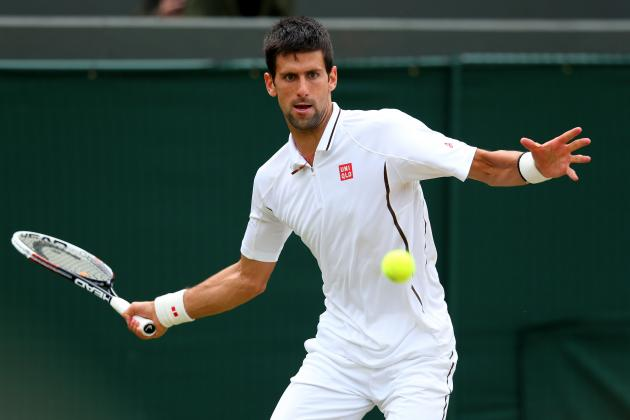 Novak Djokovic Defeats Tomas Berdych to Advance at 2013 Wimbledon