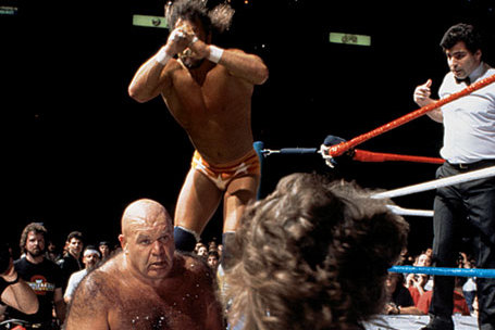 Remembering 'Macho Man' Randy Savage vs. George 'The Animal' Steele