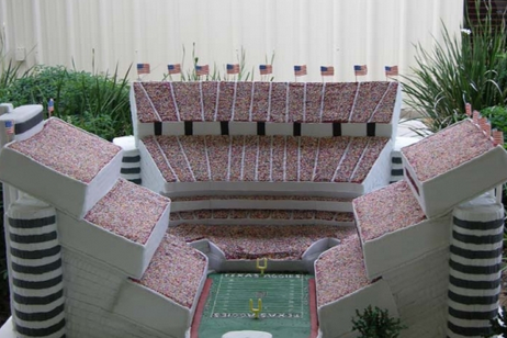 PHOTO: Kyle Field Looks Like a Delicious Wedding Cake