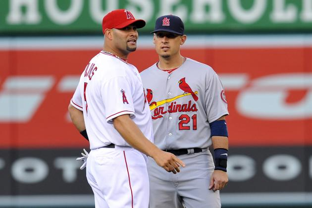 Pujols Calls Reunion with Ex-Teammates 'weird'