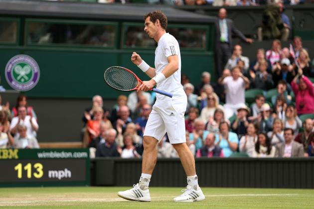 Andy Murray Defeats Fernando Verdasco to Advance at 2013 Wimbledon