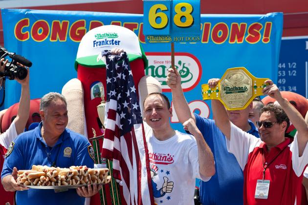 Nathan's Hot Dog Eating Contest 2013: Why Joey Chestnut Is a Lock to Win Title
