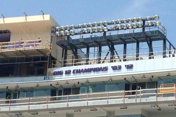 Photo: Kansas State Has Cool New Addition to Press Box in Bill Snyder Stadium