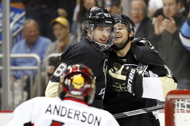 Crosby, Kunitz Named NHL First-Team All-Stars
