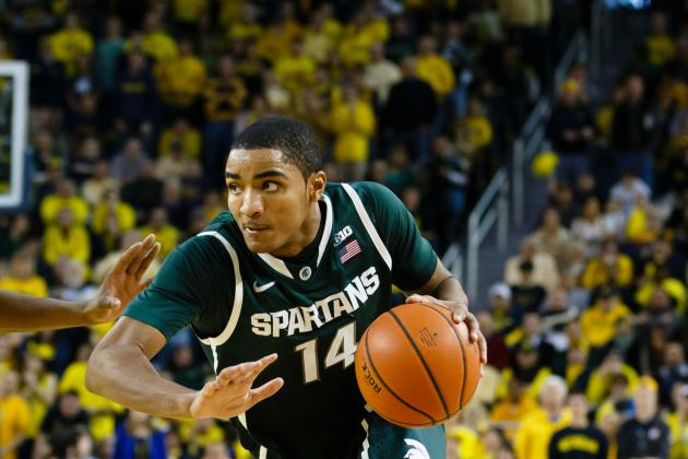 Gary Harris, Michigan State Have National Title Aspirations