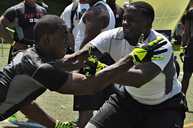 The Opening 2013: 2014 Linemen Who Dominated the Opening 1-on-1 Drills