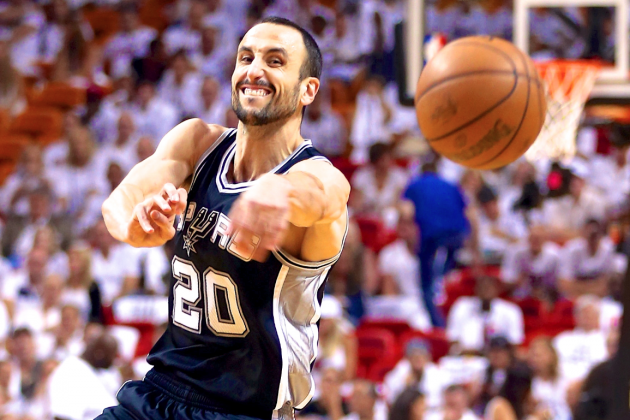 Can Manu Ginobili Still Be Spurs' Sixth Man After Signing New Two-Year Deal?