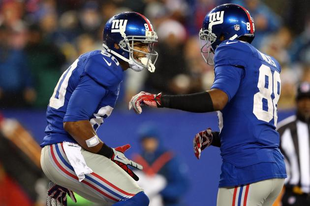 New York Giants are Working Hard to Preserve an All-Star Receiving Corps