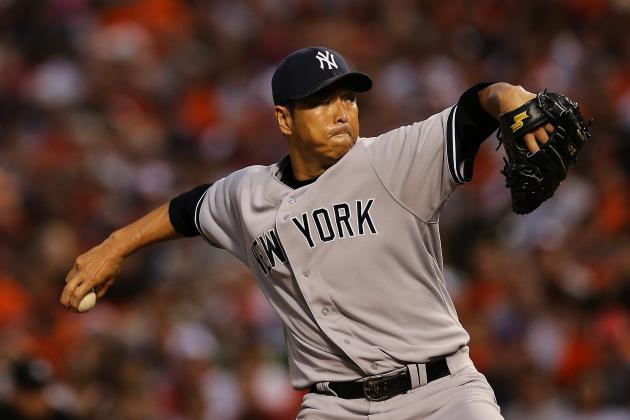A Severe Injury to Hiroki Kuroda Would Ruin the New York Yankees' Season