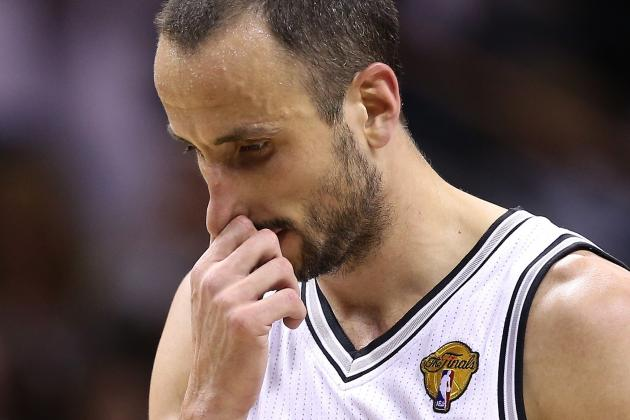 Manu Ginobili Stays with the Spurs, but Can He Have a Better Year?