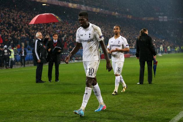 Emmanuel Adebayor Is Only Leaving Tottenham When He Gets Paid
