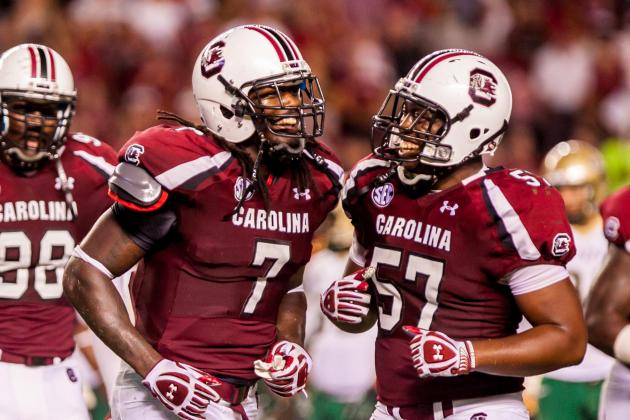 Vegas Says South Carolina Football Will Beat Every Team Except Georgia in 2013