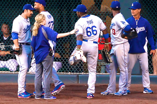 Yasiel Puig Injury: Updates on Dodgers Star's Hip