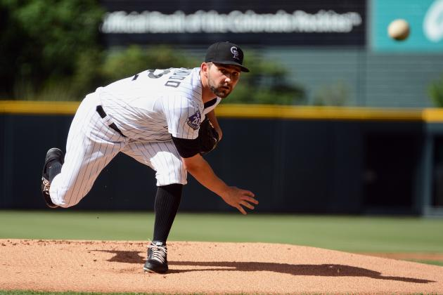 Tyler Chatwood Struggles as Rockies' Rally Falls Short in 10-8 Loss to Dodgers