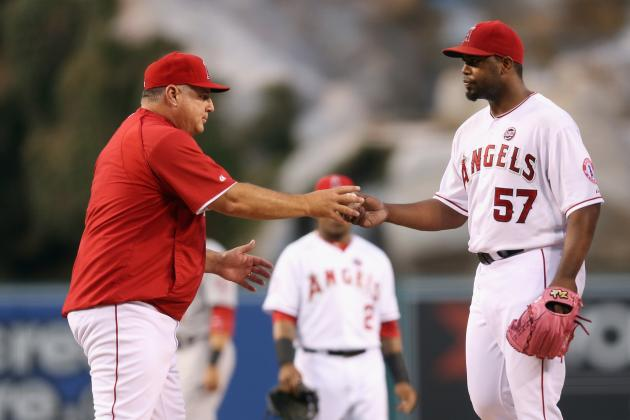 Angels' Seven-Game Streak Ends with a Thud
