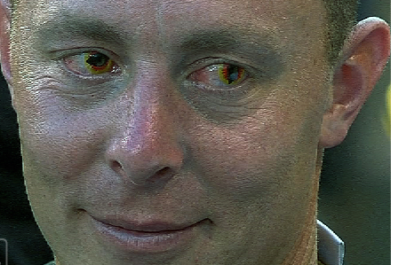 Brandon Inge's Eyes Will Haunt Your Dreams