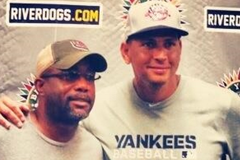 Alex Rodriguez and Hootie Couple Up