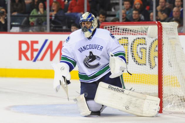 John Tortorella Glad to Have Roberto Luongo with Vancouver Canucks