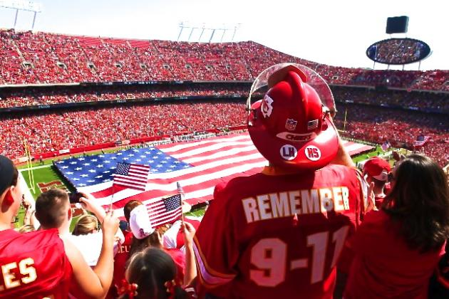 The Most Patriotic Sights in the NFL Since 2000