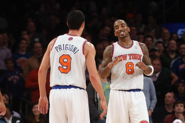 What J.R. Smith and Pablo Prigioni's Return Means for NY Knicks