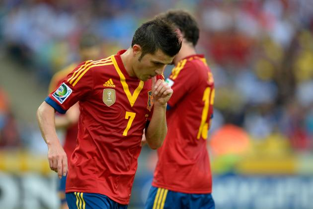 Barcelona to Tease Tottenham With David Villa, Possible Wayne Rooney Makeweight