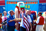 Chestnut Easily Wins Nathan's Hot Dog Eating Contest
