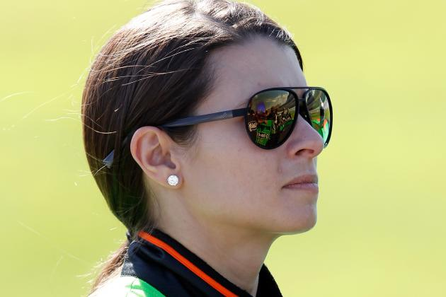 Danica Taking a Timeout at Daytona