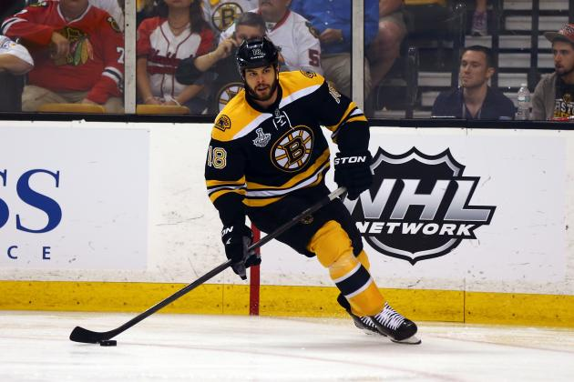 Nathan Horton Rumors: Free Agency Updates, Latest News on Star Wing