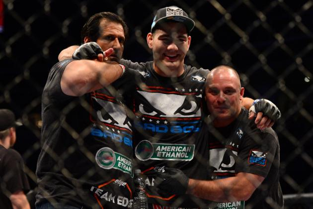 With Matt Serra Unavailable, Chris Weidman's Father to Corner Him at UFC 162