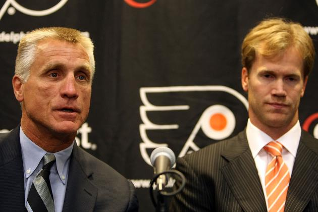 Vincent Lecavalier Signing Puts Paul Holmgren on the Hot Seat in Philadelphia