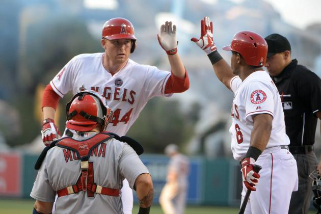 Trumbo, Hamilton Break Out Bats for Angels