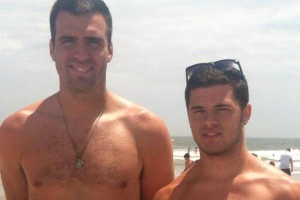 Shirtless Joe Flacco at New Jersey Beach [PHOTOS]
