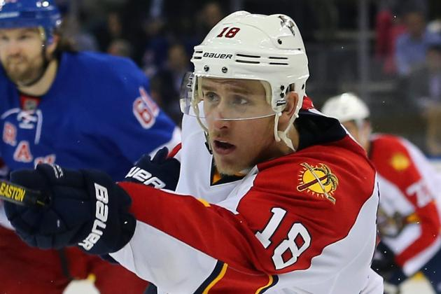 Panthers Re-Sign Matthias: Two Years, $3.5 Million