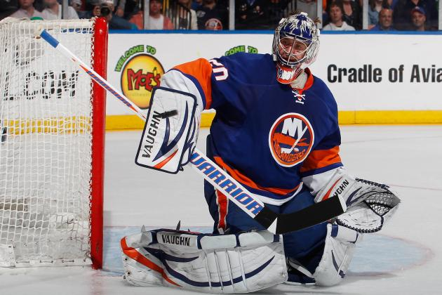 Report: Isles Re-Sign Nabokov