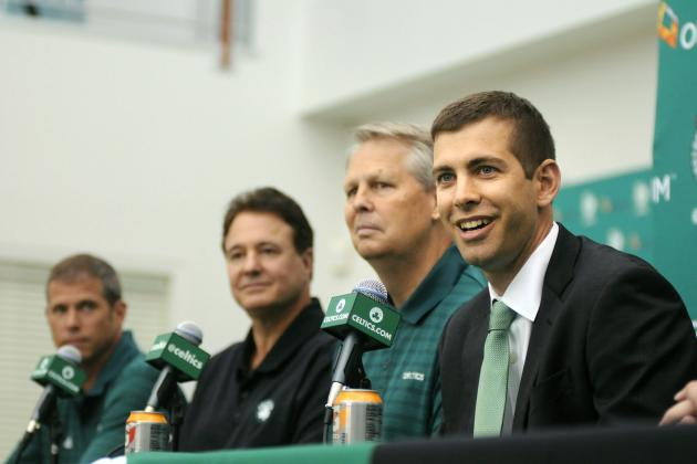 Grousbeck: Plan Is to Win Title with Rondo, Stevens