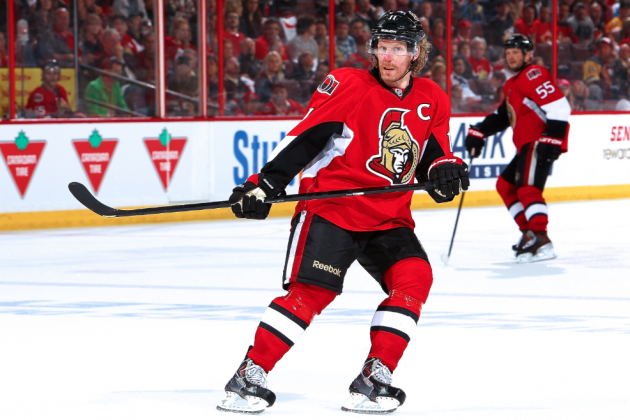 Daniel Alfredsson Signs 1-Year Deal with Detroit Red Wings