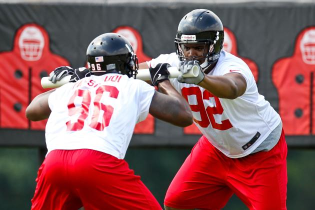 Falcons Feature Depth at DT Position