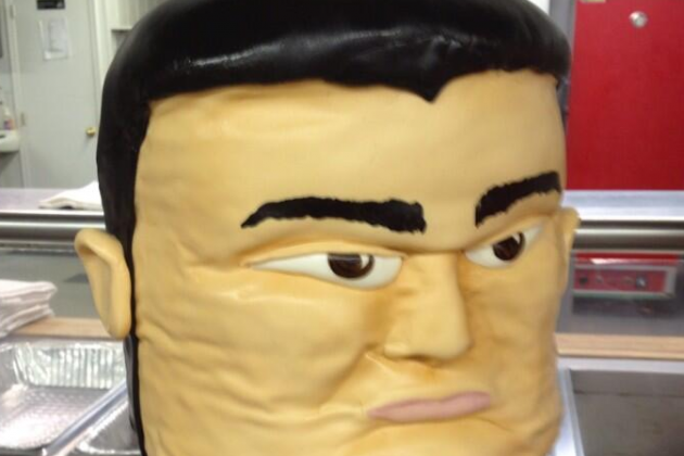 Wedding Cake Shaped Like Yao