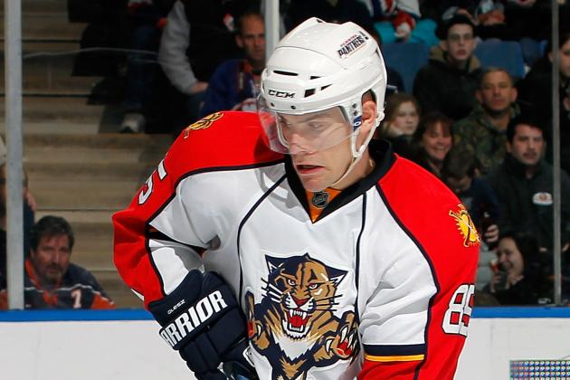 Devils Sign Ex-Panthers Forward Rostislav Olesz to 1-Year Deal