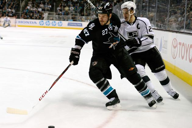 Sharks Sign Scott Hannan for 1-Year/$1M; Tyler Kennedy 2-Years$4.6M