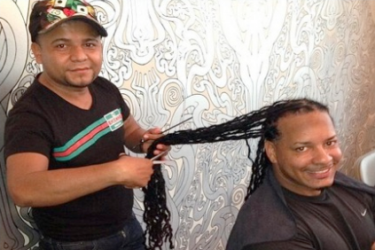Manny Ramirez's Dreadlocks in Trash Bag