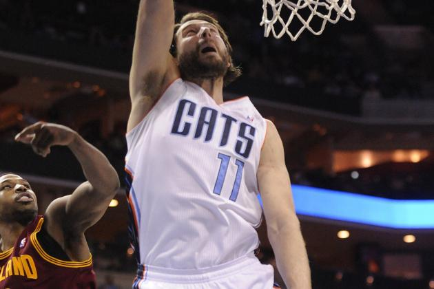 Report: Bobcats to Re-Sign Josh McRoberts