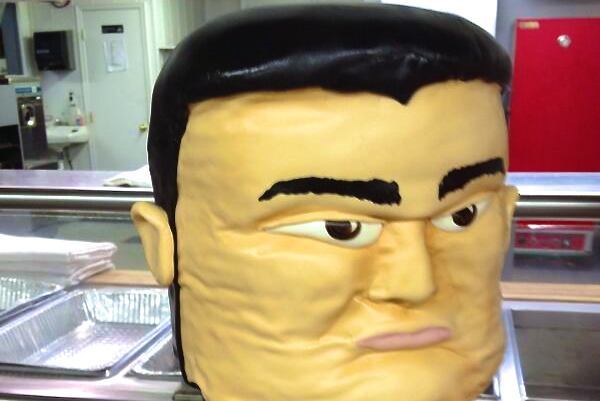 Yao Ming Wedding Cake Is Delicious, Awesome and Tad Bit Scary