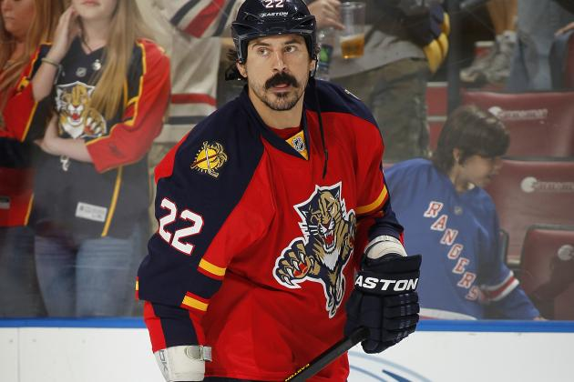 Panthers Trade Enforcer Parros to Canadiens