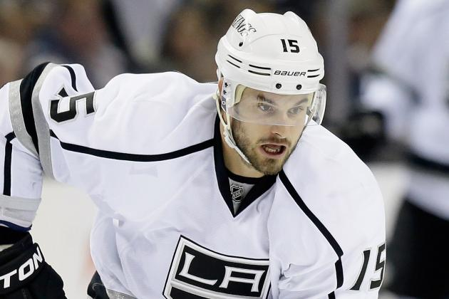 Canucks Sign Ex-Kings Center Brad Richardson to 2-Year Deal