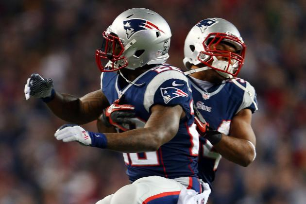 Vereen Lined Up at WR in Patriots Spring Practices